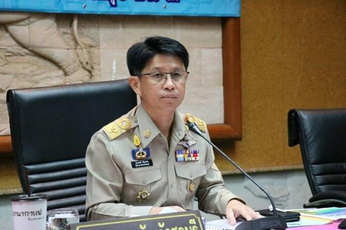 Chonburi Gov. Pakarathorn Thienchai.