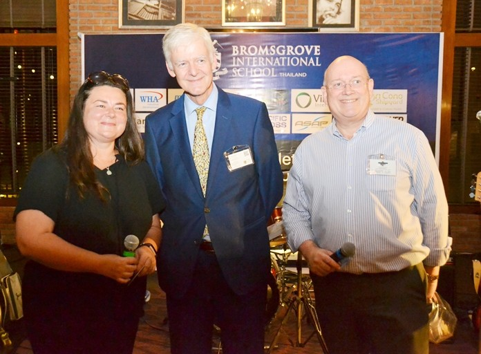 Christine Armstrong, Primary Principal, Bromsgrove International School, Ashley Deacon, Director of Admission Rugby School Thailand and Graham Macdonald, SATCC.