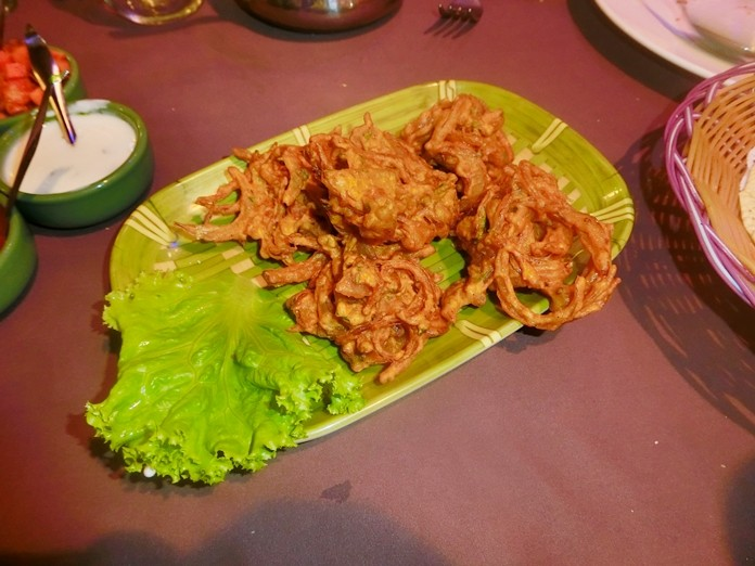 Onion Bhaji, everyone's favourite.