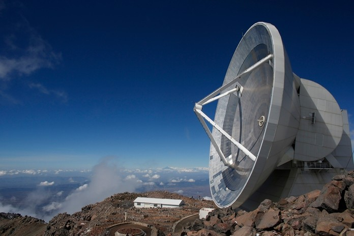 The Large Millimeter Telescope stands on the summit of the Sierra Negra peak near the town of Atzitzintla, Mexico. Astronomers have become the latest victims of Mexico's violence with activities at the observatory being reduced because its staff has suffered so many crimes while traveling to the remote mountain site, researcher said Thursday, Feb. 7, 2019. (AP Photo/Dario Lopez-Mills, File)