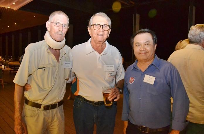 James Holloway, George Strampp and Pairat S.