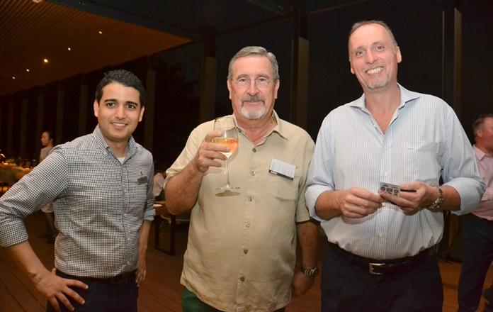 Hamza Cofi, F&B Director, David Williamson, Senior Sales Director of MBS and Denis Richter, GM of Renaissance Pattaya Resort & Spa.