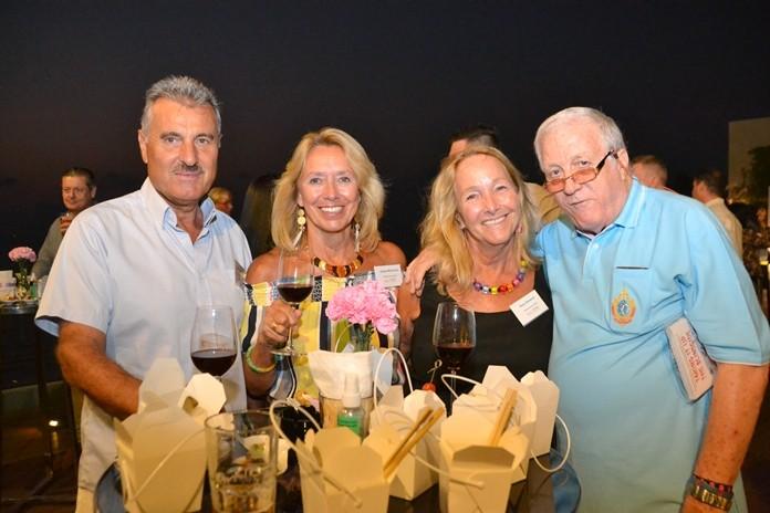 Mike Diamente, Andrea Macdonnell, Macallan Insurance Broker, Rosanne Diamente and Jimmy Howard.