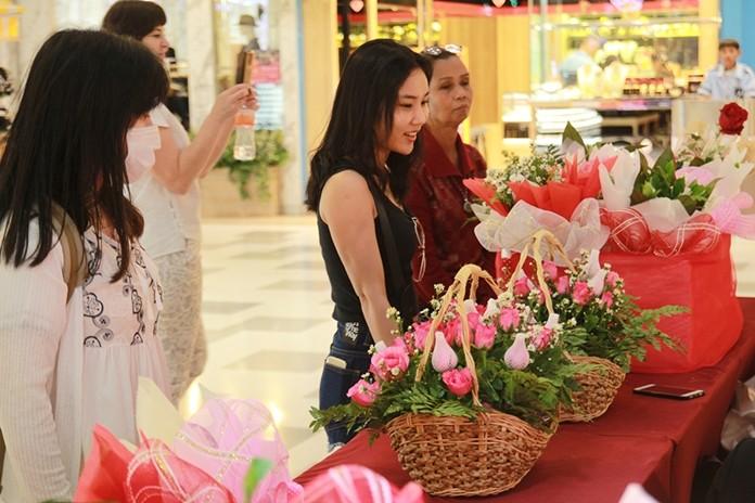 Florists reported brisk trade.