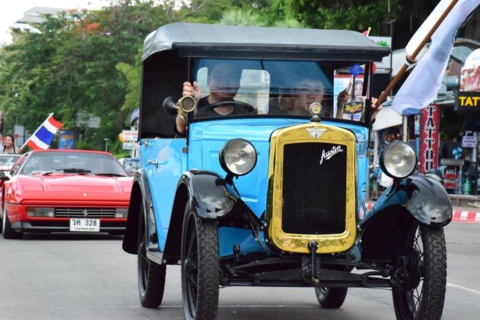 Pattaya will once more witness a parade of classic cars on Saturday, March 2.