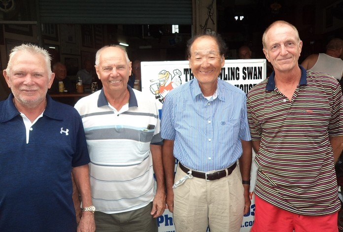 Steve Younger, from left, Alex Field, Mikito Homma and Dave Maw.