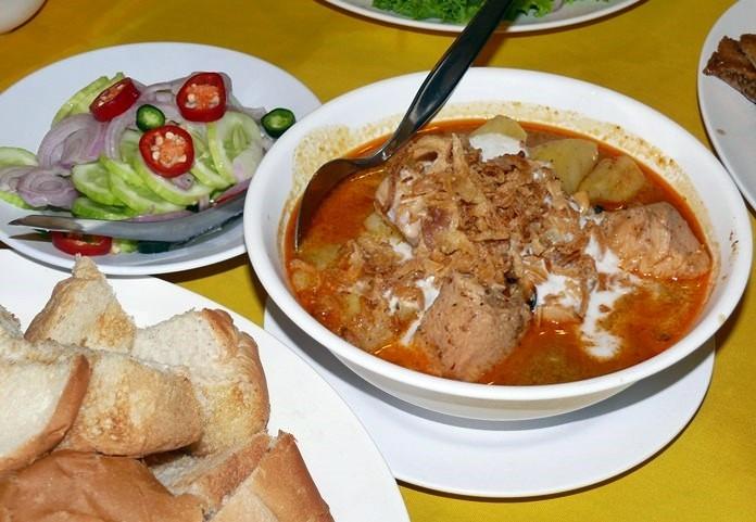 Masaman, a signature dish.