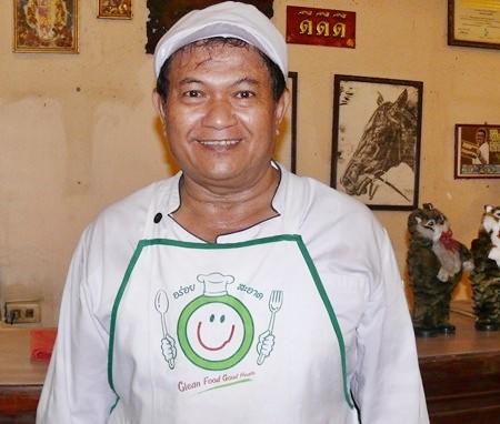 Somkiet, the home grown chef.