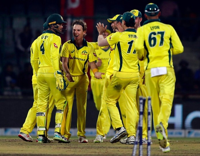 Australia's 2-year ODI losing streak ends in New Delhi