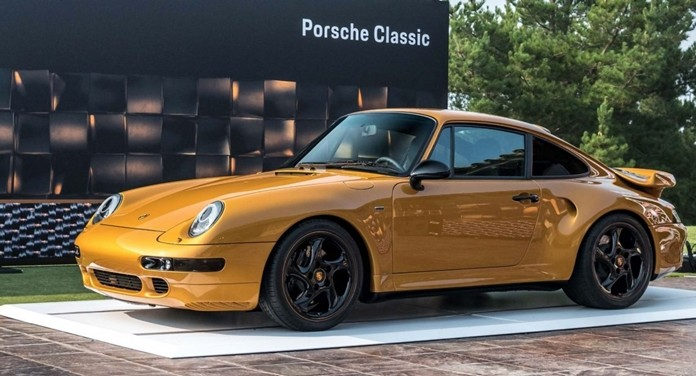 Your gold Porsche, Sir?