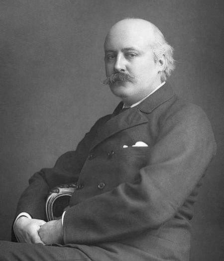 Composer Sir Hubert Parry in 1893.