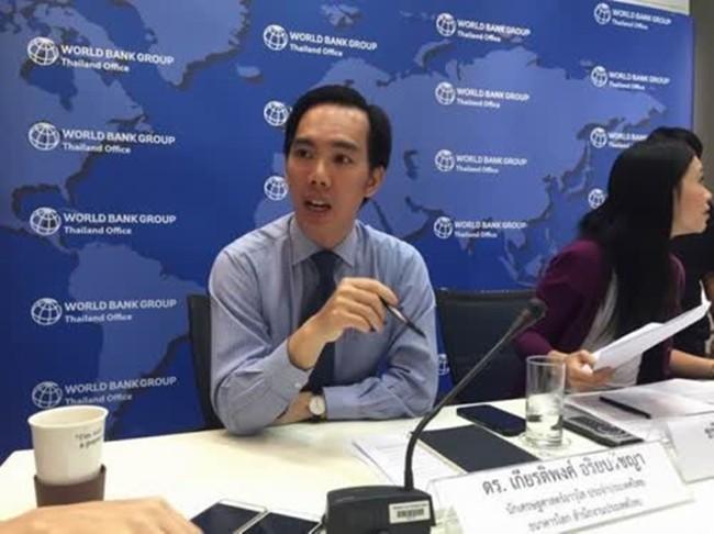 Kiatiphong Ariyapratchaya, senior economist World Bank (Thailand).