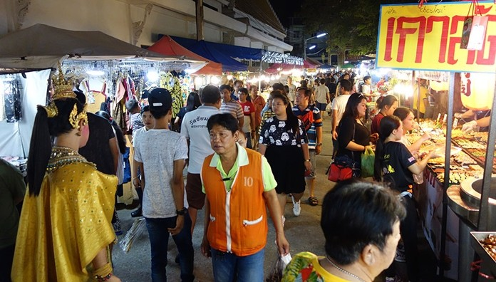 Faith and fun combined as Chaimongkol Temple hosted its annual pre-Songkran fair.