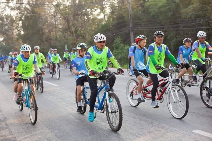 The Foundation For the Blind in Thailand will commemorate its 80th anniversary with a Bike with the Blind bicycle trek through Pattaya May 12.