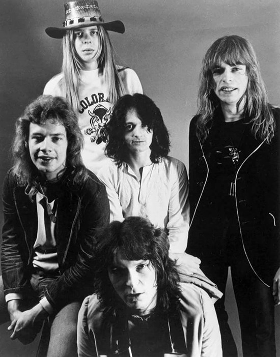 English prog-rock band Yes are shown in this undated photo.