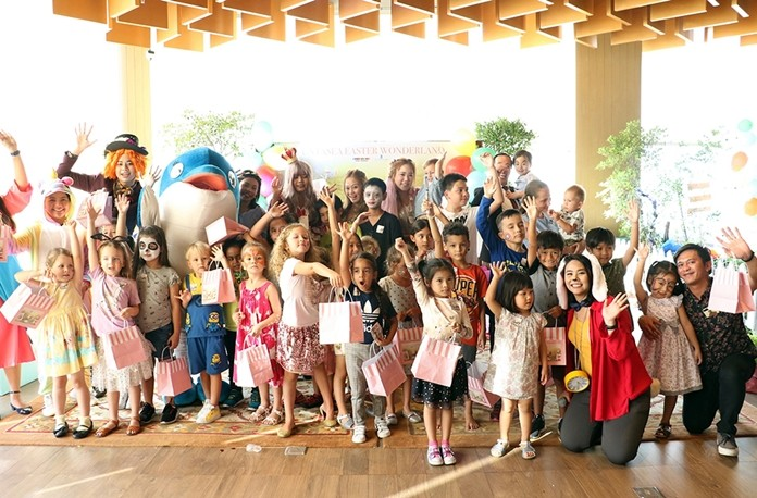 Royal Cliff's 2019 Funtasea Easter Wonderland party was a massive egg-straordinary success!