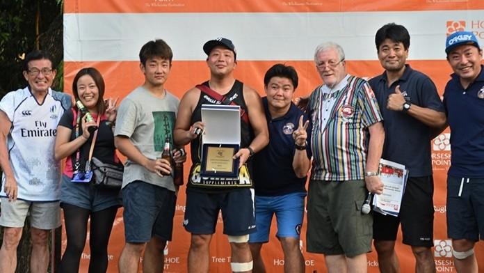 Bangkok Japanese were this year's Shield winners. (Photo/Robert Lincoln)