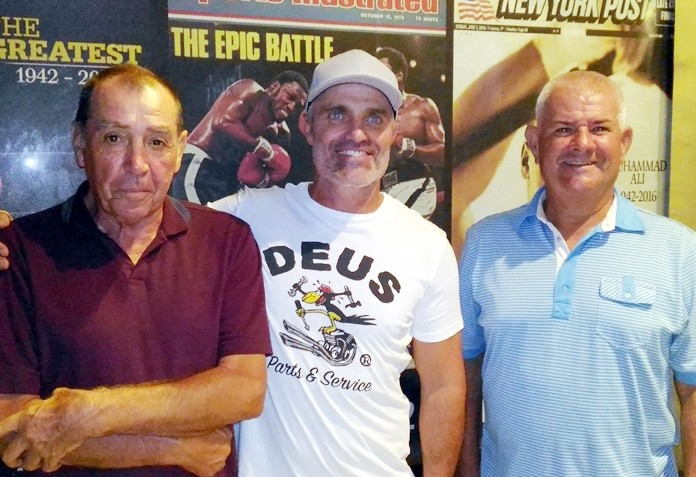 Glyn Evans, Gareth Piccinin and Mark Cooper.
