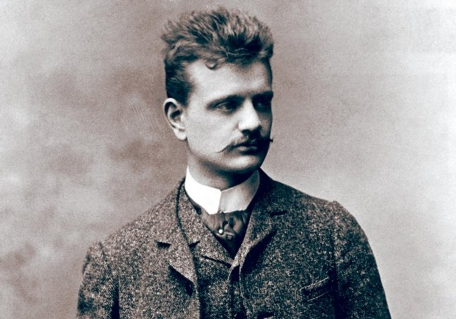 Jean Sibelius in the late 1880s.