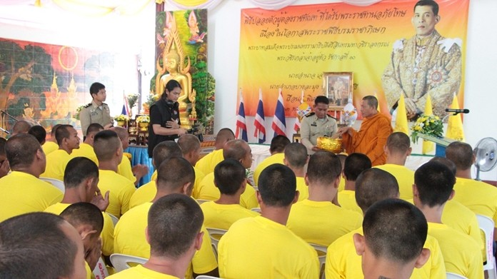 Nearly 250 inmates were released from Pattaya Remind Prison on royal pardons granted for HM the King's coronation.
