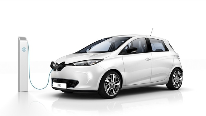 Renault Zoe electric.