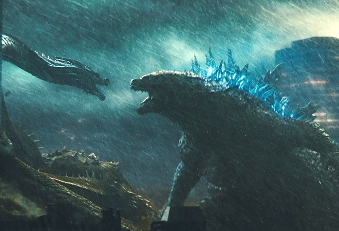 "This image shows a scene from ""Godzilla: King of the Monsters."" (Warner Bros. Pictures via AP)"