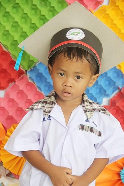 All ready to attend kindergarten.