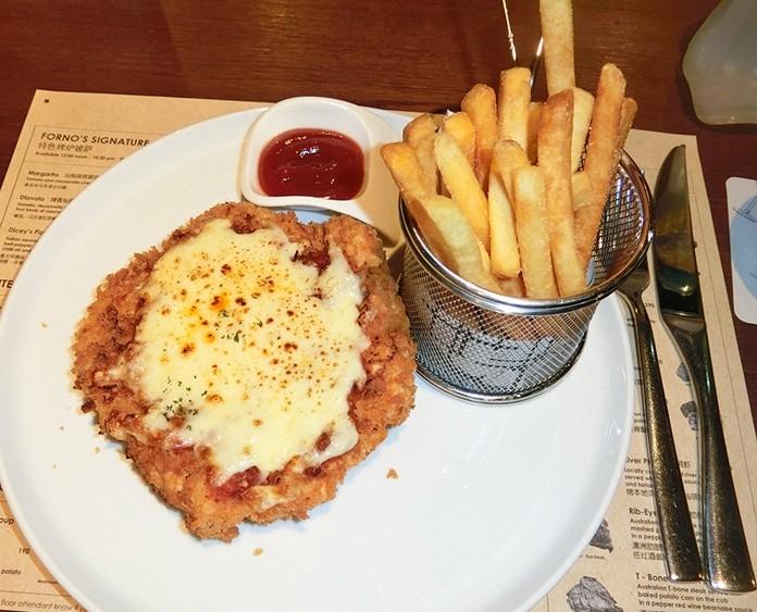 Chicken Parmigiano. (Photos by Marisa Corness)