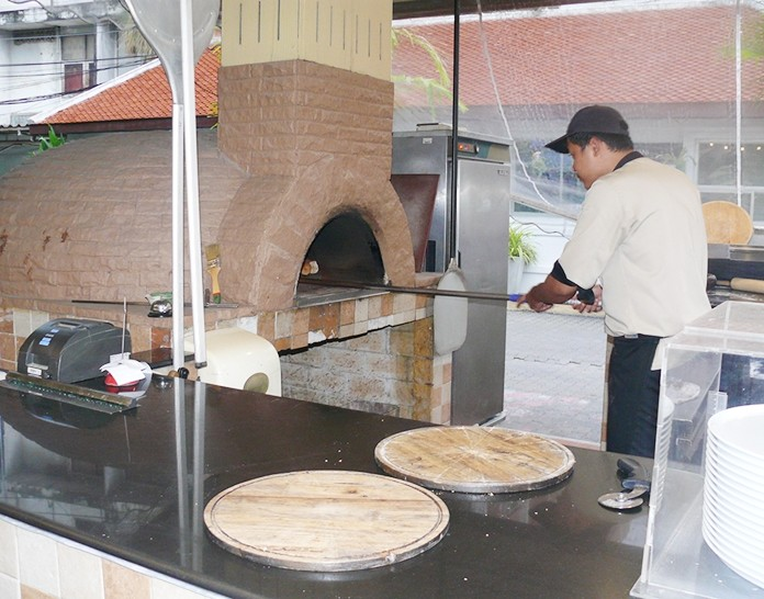 Pizzas from the Forno oven. (Photos by Marisa Corness)