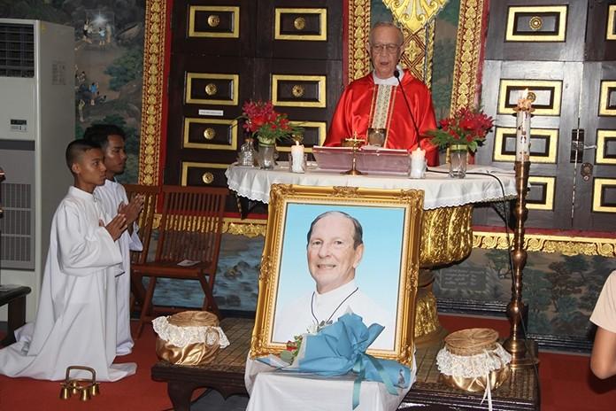 Father Thanu celebrated the Mass.