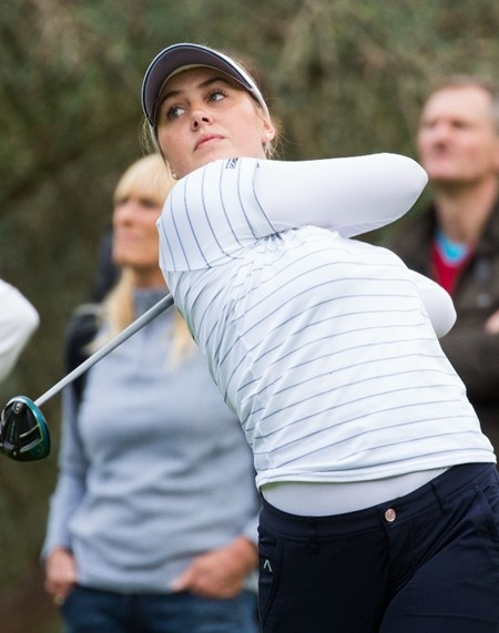 Could this be third time lucky for inform Olivia Cowan at Phoenix? (Photo/Ladies European Tour)
