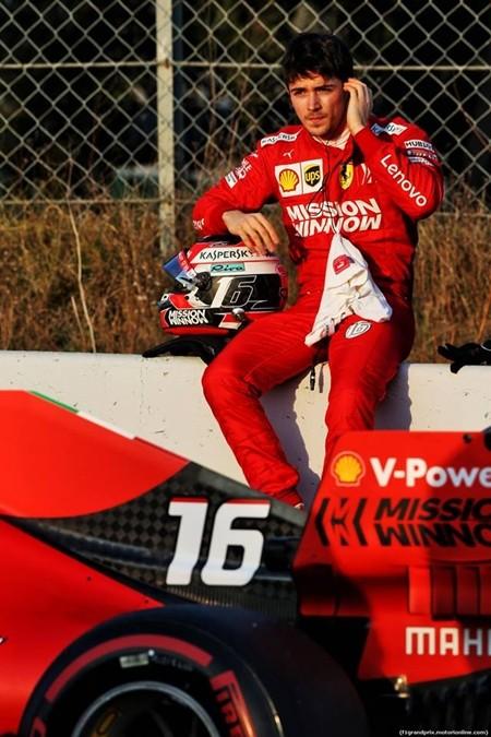 """Leclerc. """"It's broken!"""""""