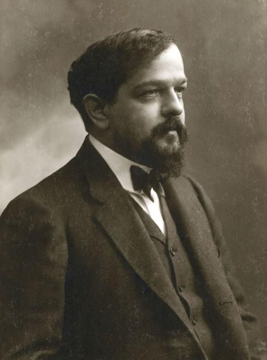 Claude Debussy around 1908.