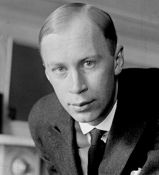Serge Prokofiev in 1918.
