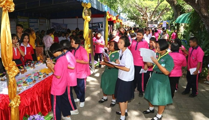 Nearly 2,000 Pattaya youths competed in fine arts, sports and science.
