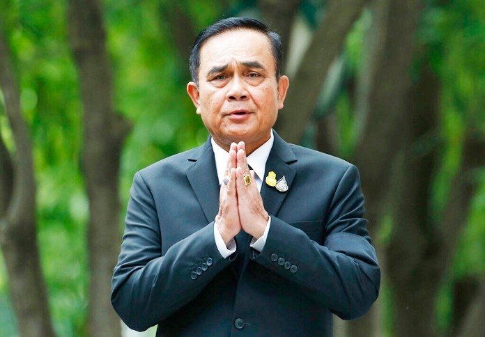 Prime Minister Prayuth Chan-ocha is shown in this Thursday, June 6, 2019, file photo. (AP Photo/Sakchai Lalit)
