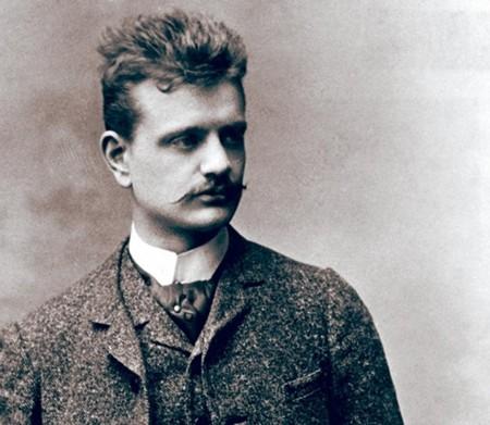 Jean Sibelius in the late 1880s.