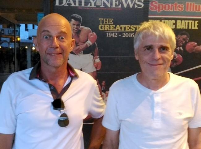Marc Brunner and Hanke Manfred.