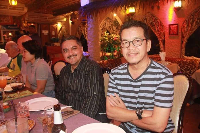 Prince Malhotra Dep. MD of Pattaya Mail with Nopniwat Krailerg (Editor of the Pattaya Mail Media Group).