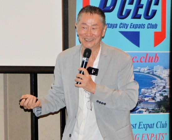 The man who followed his dream, David S. Lee enjoys telling his PCEC audience about how his love for music caused him to give up a lucrative career working for NASA and go on to become a famous Chinese and Taiwanese Rock star.