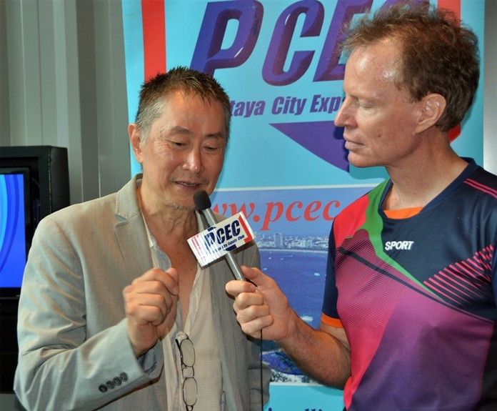Member Ren Lexander interviews David S. Lee after his PCEC presentation. To view a video, visit https://www.youtube.com/watch?v=0WrG1XuRgf8.