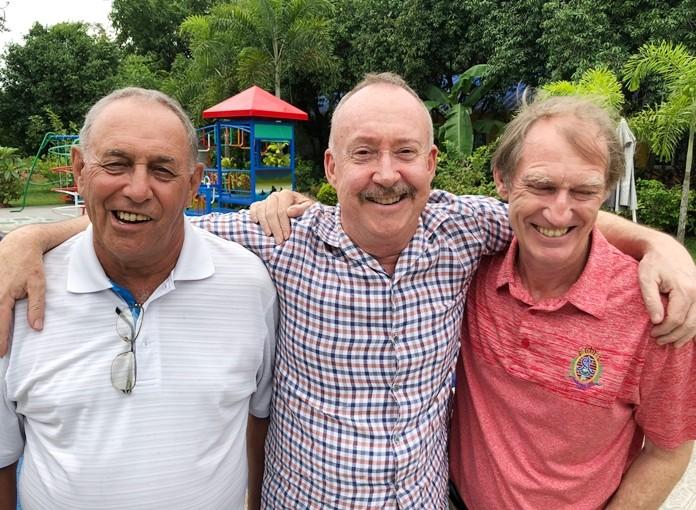From left: David Lusha, Stuart Banks & Jonathan Pratt.