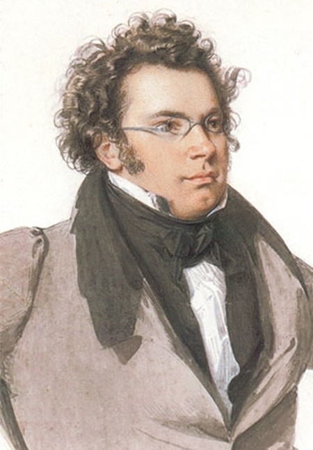 Franz Schubert in 1824. (Wilhelm August Rieder)
