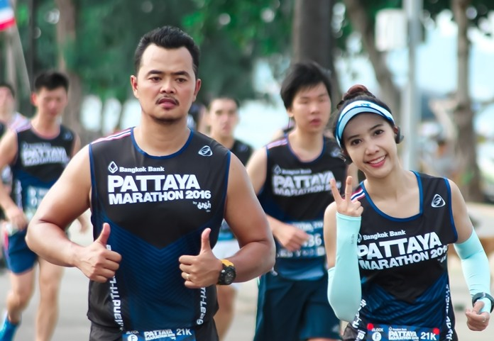 The 28th Pattaya Marathon takes place Sunday, July 21, 2019.