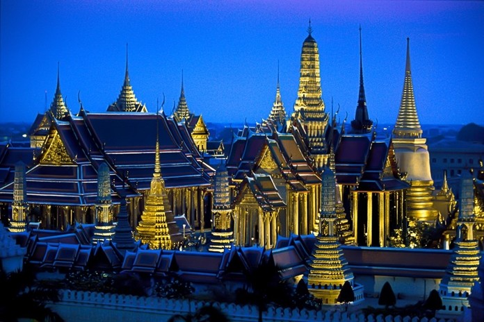 Lighting can be everything, Glen Allison explains as he shows this photo he took of Wat Phra Kaew in Bangkok at sunrise.