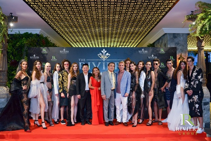 Deputy Pattaya Mayor Ronakit Ekasing is flanked by Sukanya and Winston Gale (center) and the all the gorgeous men and women who added glamour and style to the festivities.