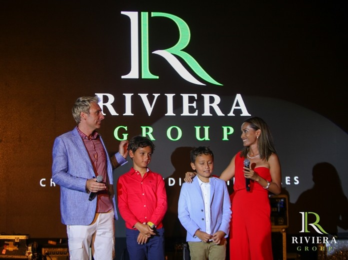 Winston and Sukanya Gale, together with their sons Austin and Toby proudly announce the completion of the Riviera Jomtien.