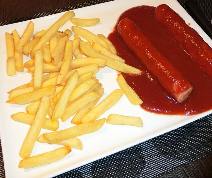 A very tasty sausage dish. (Photos by Marisa Corness)