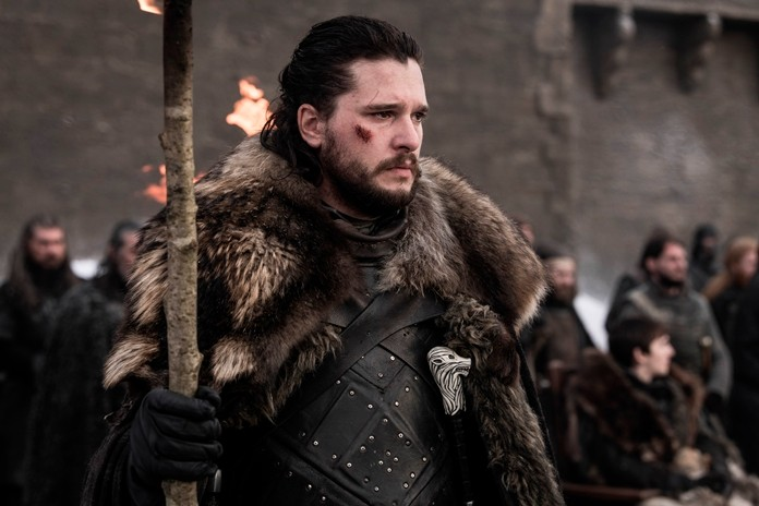 """This image shows Kit Harington in a scene from """"Game of Thrones."""" (HBO via AP)"""