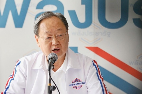 Palang Pracharath Party Secretary General, Sonthirat Sonthijirawong.